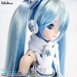 F/S NEW VOLKS Dollfie Dream DD Hatsune Miku Doll YUKI MIKU SNOW Ver