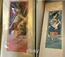 Sailor Mars Mercury volks Dollfie Dream doll figure set DDS moon anime manga