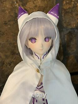 VOLKS Dollfie Dream Emilia ReZero Kara Hajimeru Isekai Seikatsu Japan