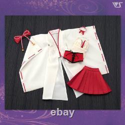 VOLKS Dollfie Dream Outfit set Flower knot costume, fox ears & nine tail set JP