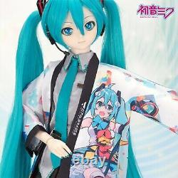 Vocaloid Magic Mirai 2018 Hatsune Miku Happi Coat Dollfie Dream
