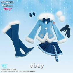 Volks DD Dollfie Dream Snow Hatsune Miku Fluffy Coat Set