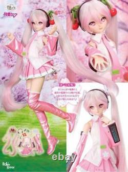 Volks DD Sakura Miku Dollfie Dream PVC & ABS Doll Vocaloid from Japan