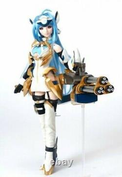 Volks Dollfie Dream 1/3 KOS-MOS Ver. 4 Xenosaga Ep III Doll withHand Gatling gun
