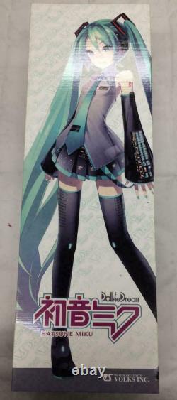 Volks Dollfie Dream Hatsune Miku FIgure Used RARE From JP
