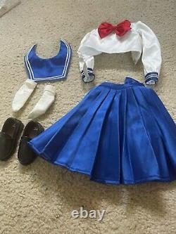Volks Dollfie Dream Sister Sailor Moon Sailor Mercury Doll fullset + School Unif