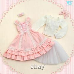 Volks Feb Collection 2017 Dollfie Dream Princess Pink Jumper DDS DD SS-M bust