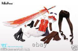 Volks HTDP Nagoya 5 Dollfie Dream Sakuya Mode Crimson Shining Blade DD New Japan