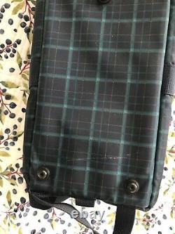 Volks Mini Dollfie Dream Super Dollfie Carry Bag Case Limited Edition Tartan MSD