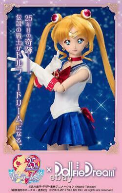 Volks Sailor Moon 25th ANNIVERSARY Dollfie Dream Sister DDS Dolpa 38 DOLL